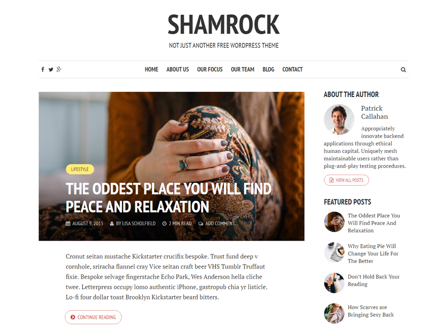 https://themes.svn.wordpress.org/shamrock/1.0.5/screenshot.png