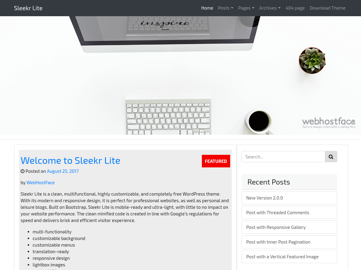https://themes.svn.wordpress.org/sleekr-lite/2.0.3/screenshot.png