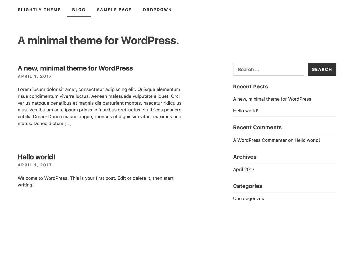 https://themes.svn.wordpress.org/slightly/1.0.6/screenshot.png