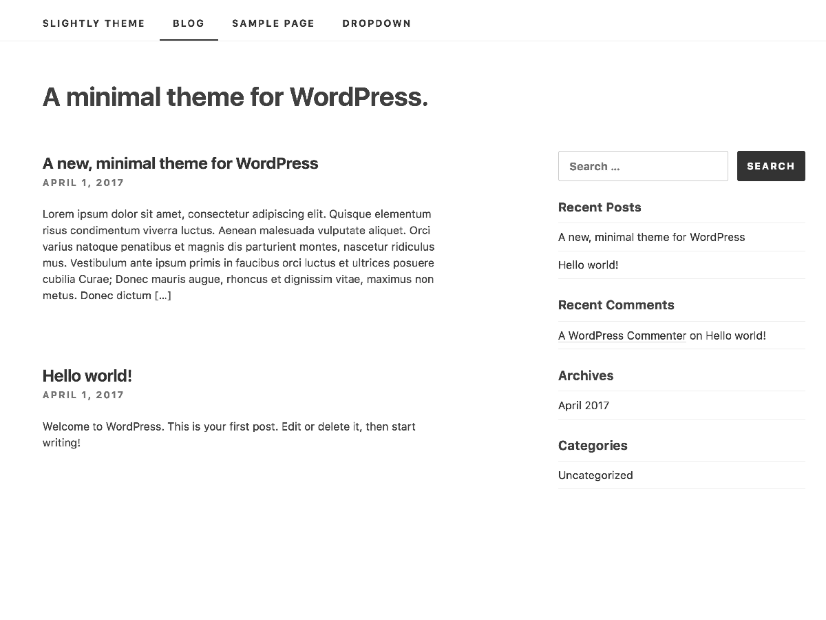 https://themes.svn.wordpress.org/slightly/1.0.7/screenshot.png