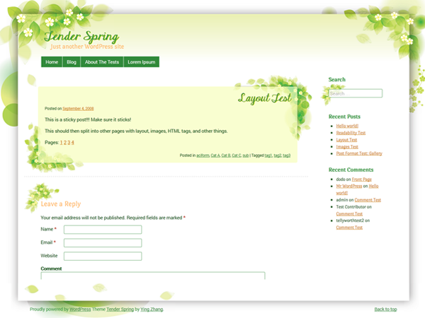 https://themes.svn.wordpress.org/tender-spring/1.0.9/screenshot.png