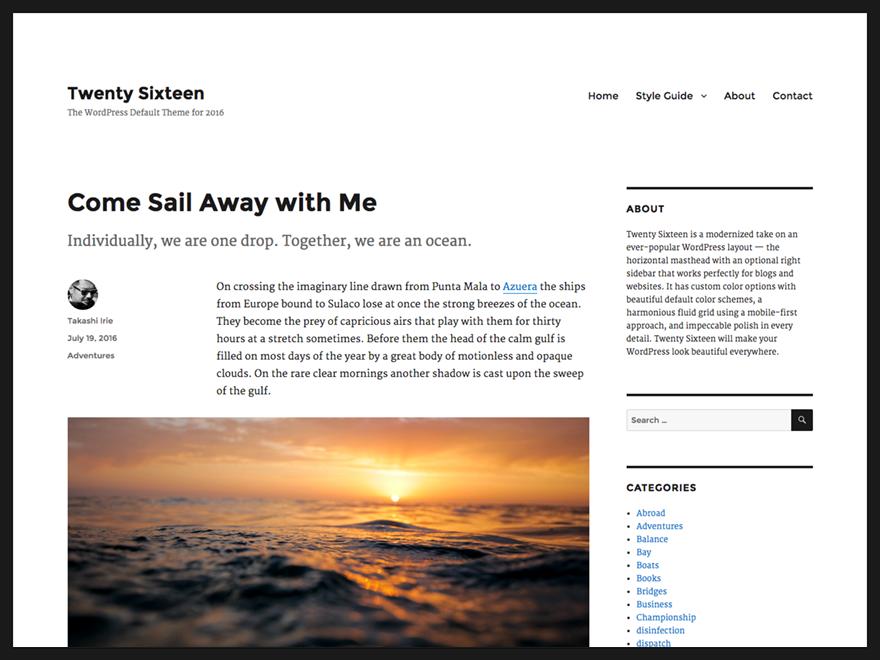 https://themes.svn.wordpress.org/twentysixteen/0.1.20151003/screenshot.png